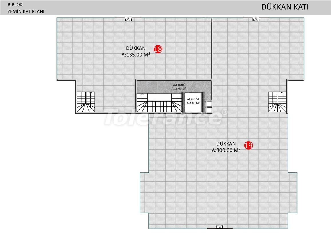 Элитные апартаменты в Оба, Алания в комплексе с бассейном - 39245   Tolerance Homes