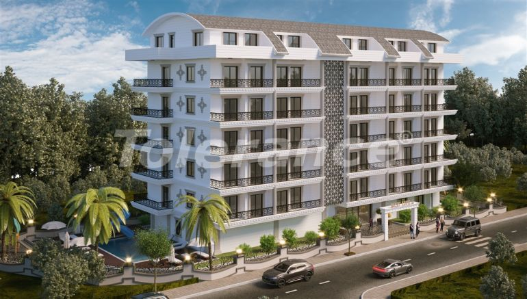 Двухкомнатные квартиры в Махмутларе-Алания от застройщика - 39343 | Tolerance Homes