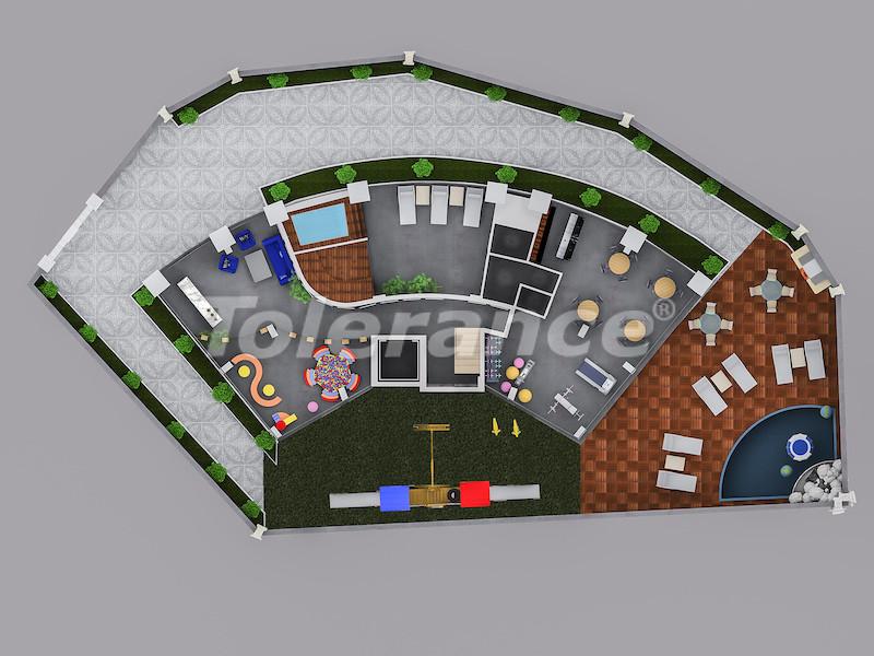Квартиры в Тосмуре, Алания в современном комплексе с рассрочкой до 1 года - 39419 | Tolerance Homes