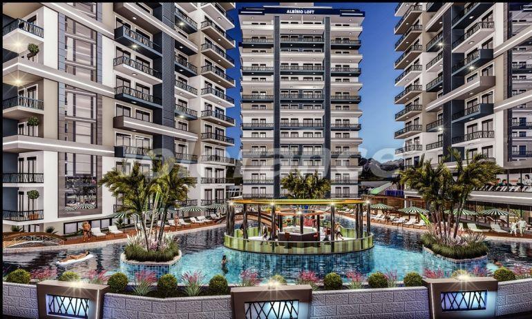 Квартиры  в Махмутларе, Алания в комплексе с обширными удобствами - 39525   Tolerance Homes