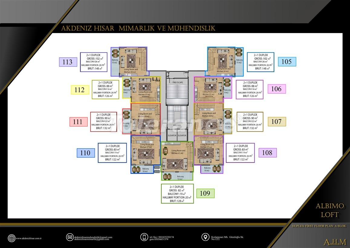 Квартиры  в Махмутларе, Алания в комплексе с обширными удобствами - 39518   Tolerance Homes