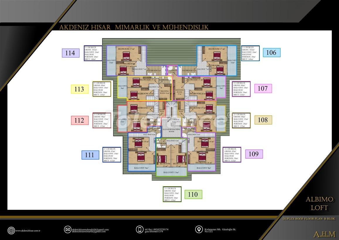 Квартиры  в Махмутларе, Алания в комплексе с обширными удобствами - 39521   Tolerance Homes