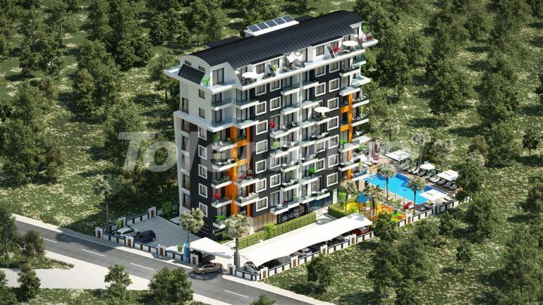 Современный комплекс с квартирами в Авсалларе, Алания в рассрочку на 1 год от застройщика - 39584 | Tolerance Homes