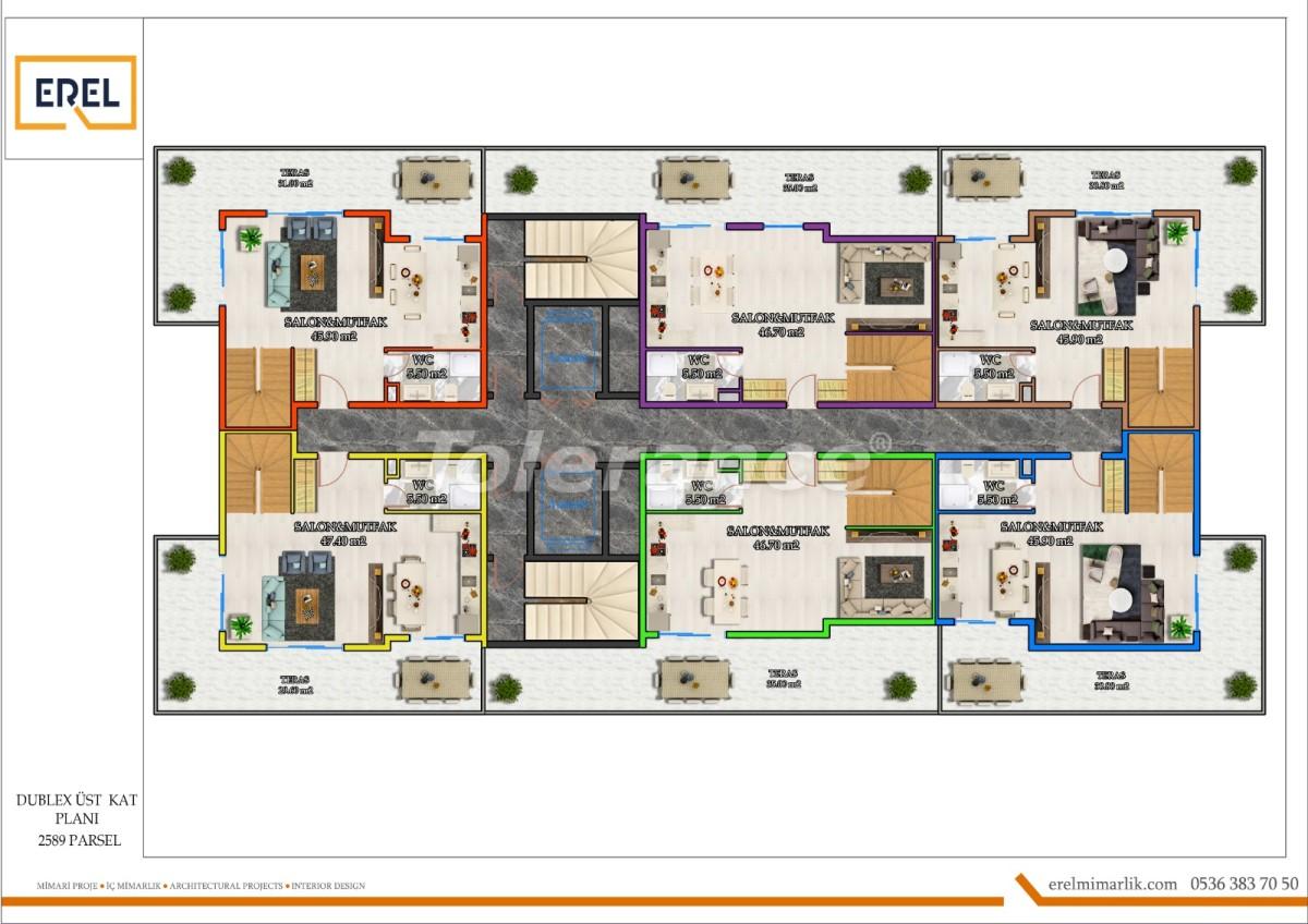 Элитные апартаменты в Махмутларе, Алания в комплексе гостиничного типа - 39630 | Tolerance Homes