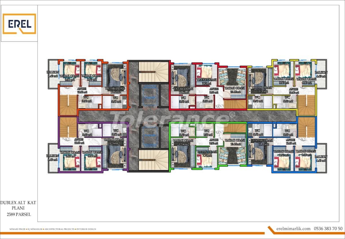 Элитные апартаменты в Махмутларе, Алания в комплексе гостиничного типа - 39631 | Tolerance Homes
