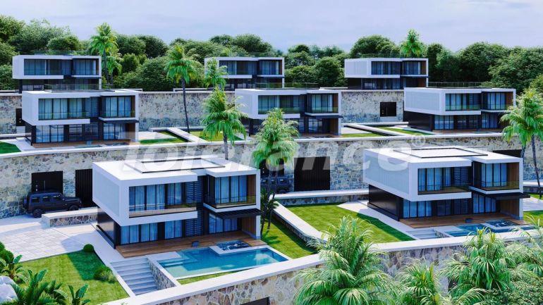 Современные виллы в Алании, с панорамным видом на море - 39707   Tolerance Homes