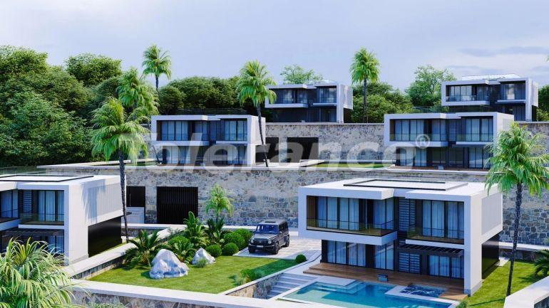 Современные виллы в Алании, с панорамным видом на море - 39708   Tolerance Homes