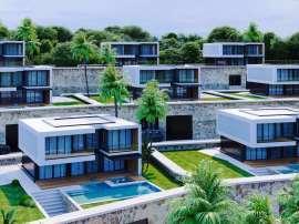 Современные виллы в Алании, с панорамным видом на море - 39707 | Tolerance Homes