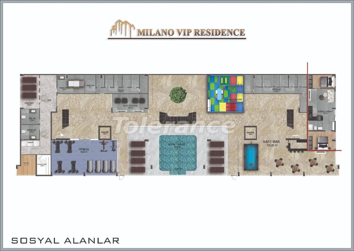 Современные апартаменты в Алании от надежного застройщика - 39844 | Tolerance Homes