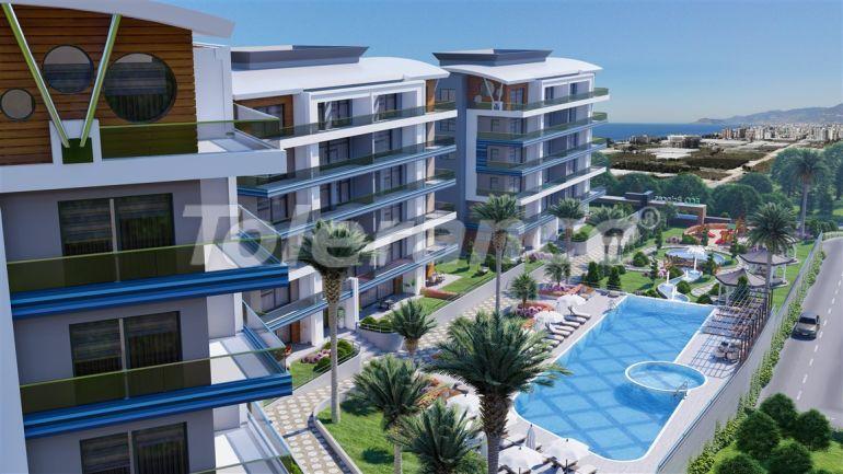 Роскошные апартаменты в Каргыджаке, Алания в рассрочку от застройщика в комплексе гостиничного типа - 39780   Tolerance Homes