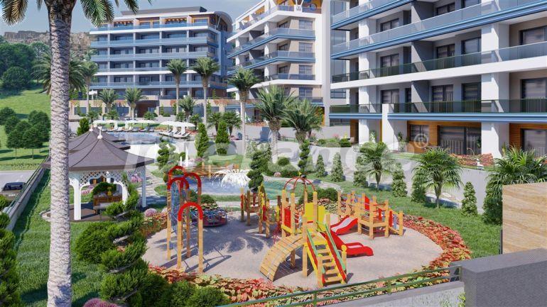 Роскошные апартаменты в Каргыджаке, Алания в рассрочку от застройщика в комплексе гостиничного типа - 39770   Tolerance Homes