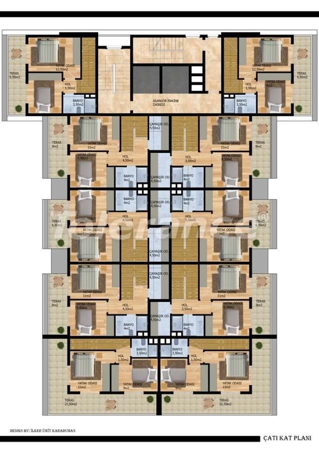 Современные апартаменты в Газипаше от застройщика - 40211   Tolerance Homes