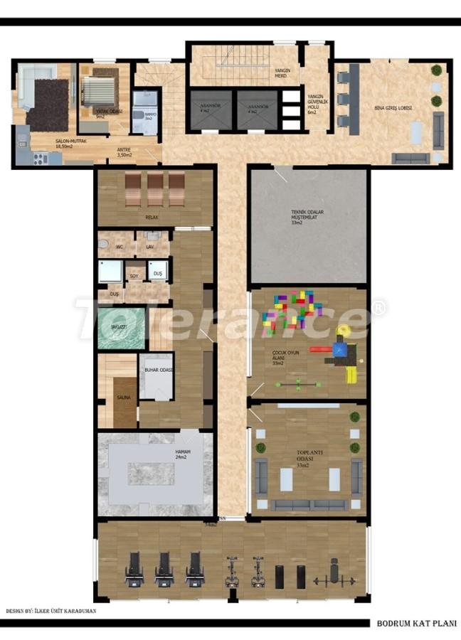 Современные апартаменты в Газипаше от застройщика - 40213   Tolerance Homes