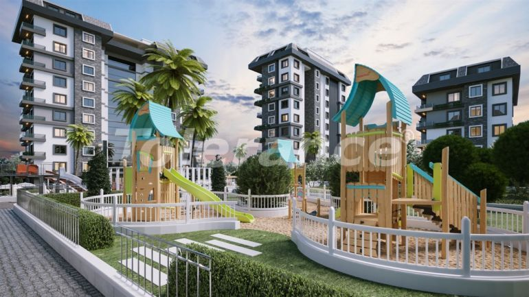 Квартиры в Авсалларе, Алания выгодны для инвестиций с рассрочкой платежа - 40675 | Tolerance Homes
