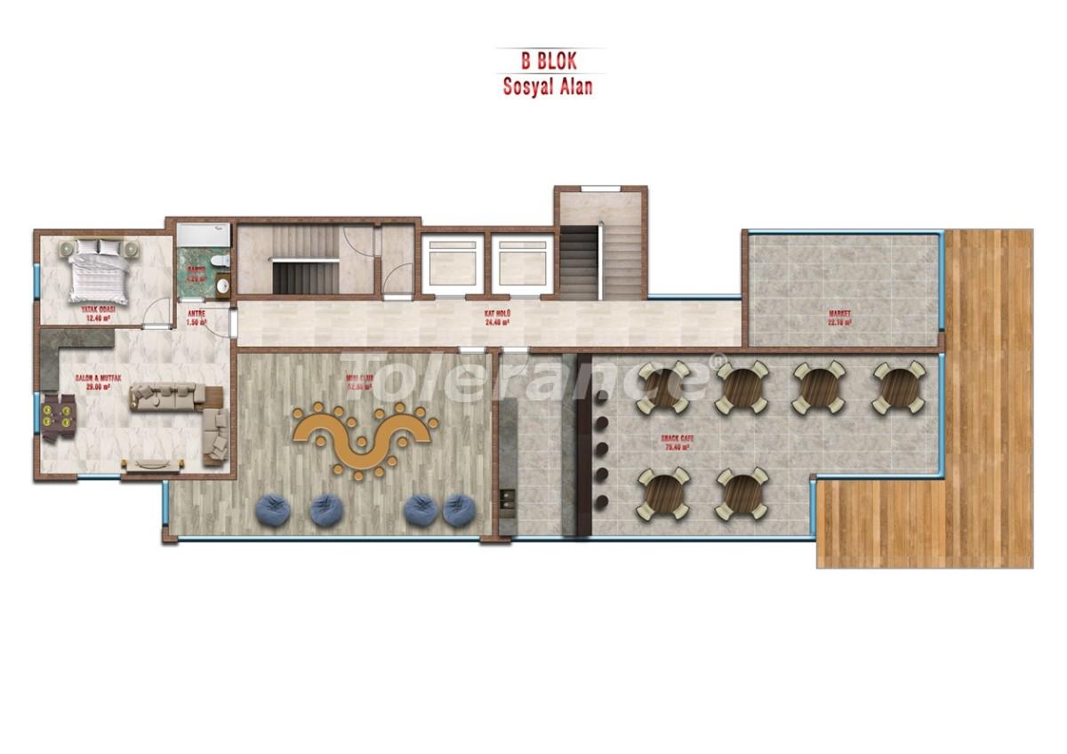 Квартиры в Авсалларе, Алания выгодны для инвестиций с рассрочкой платежа - 40715 | Tolerance Homes