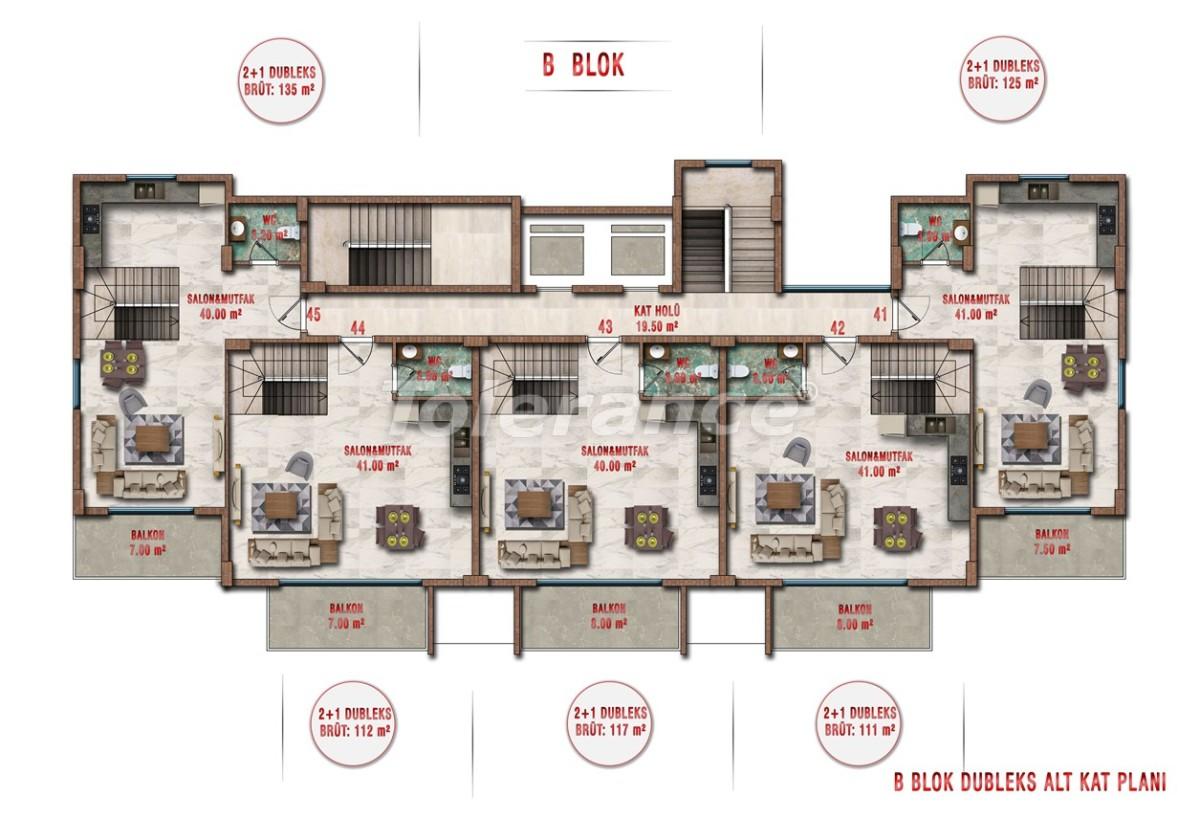 Квартиры в Авсалларе, Алания выгодны для инвестиций с рассрочкой платежа - 40704 | Tolerance Homes