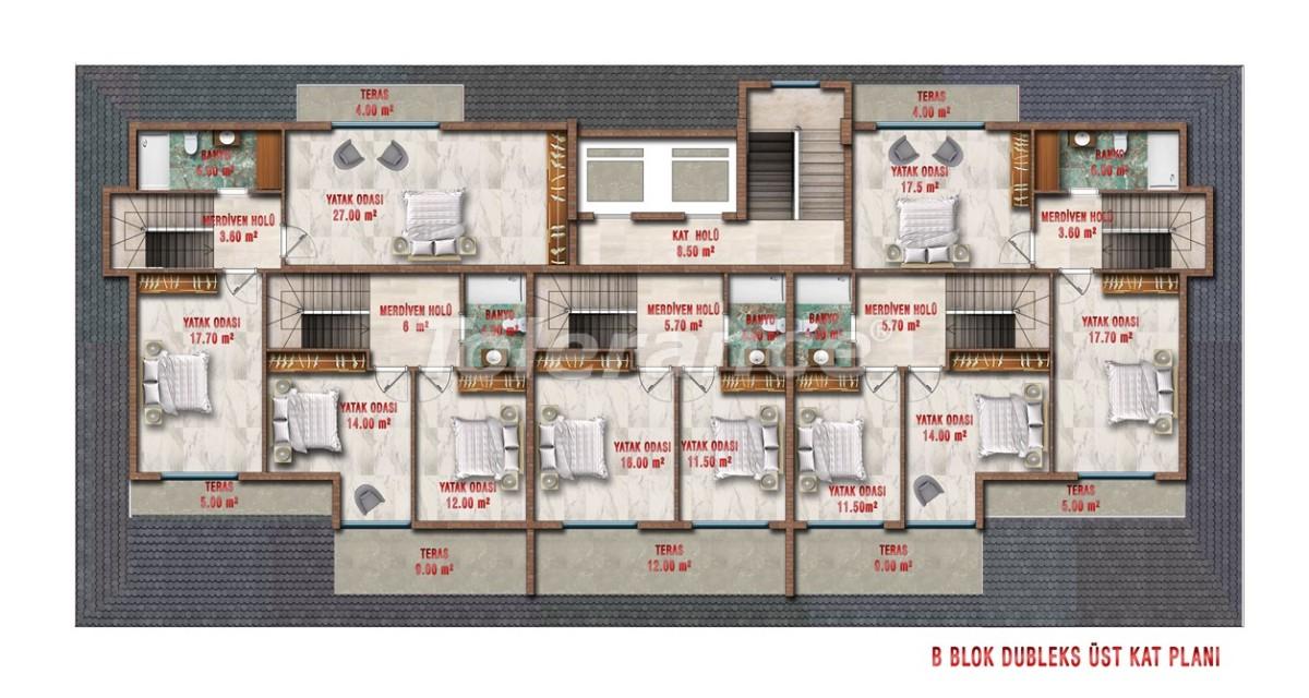 Квартиры в Авсалларе, Алания выгодны для инвестиций с рассрочкой платежа - 40705 | Tolerance Homes
