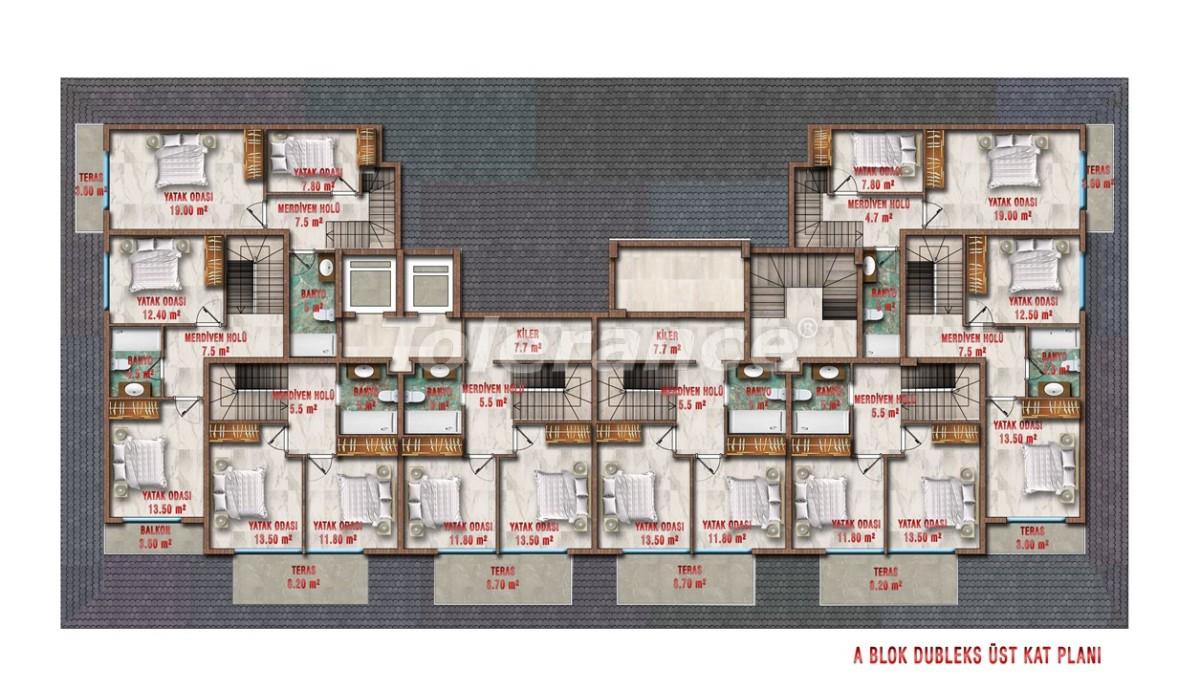 Квартиры в Авсалларе, Алания выгодны для инвестиций с рассрочкой платежа - 40702 | Tolerance Homes