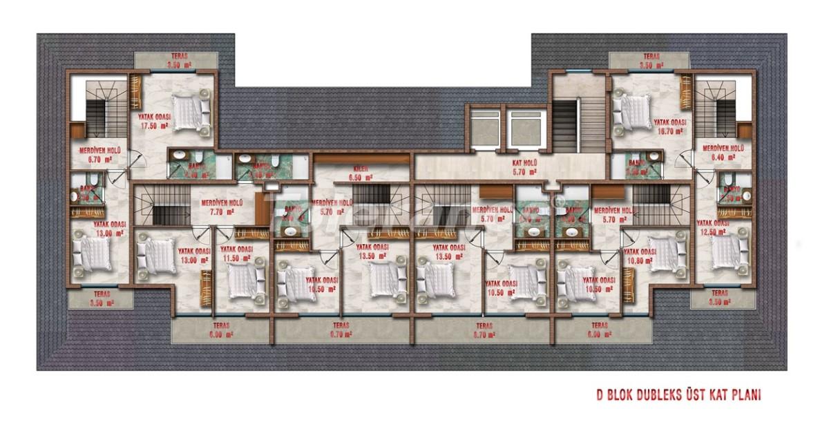 Квартиры в Авсалларе, Алания выгодны для инвестиций с рассрочкой платежа - 40712 | Tolerance Homes