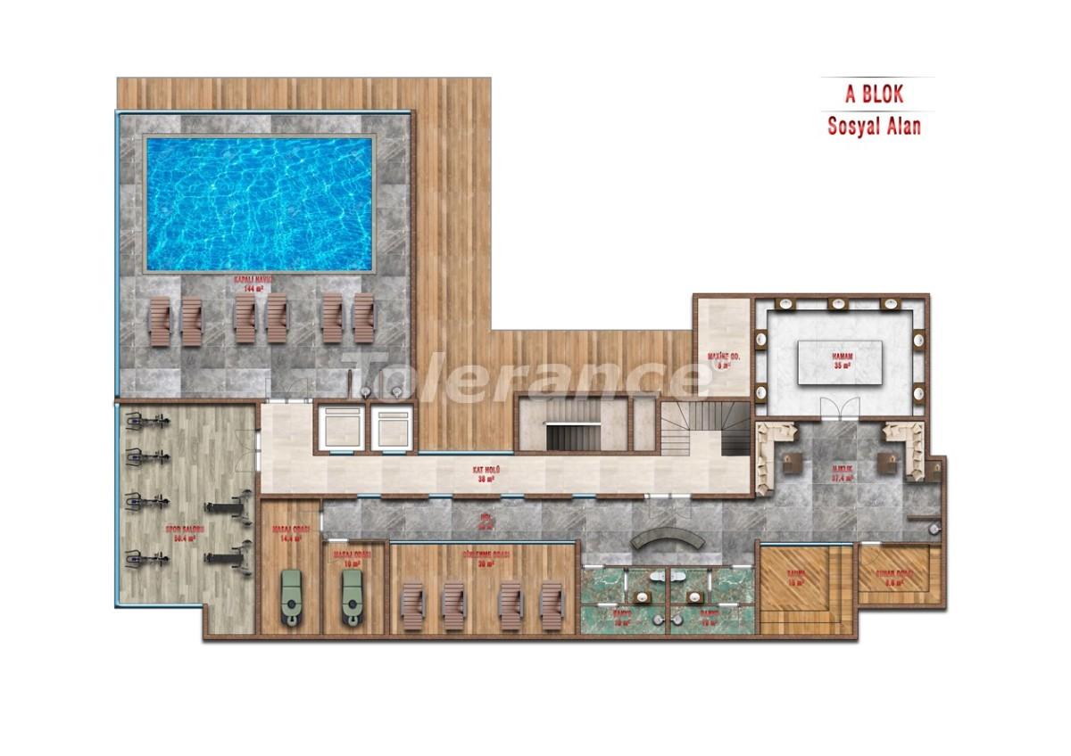 Квартиры в Авсалларе, Алания выгодны для инвестиций с рассрочкой платежа - 40714 | Tolerance Homes