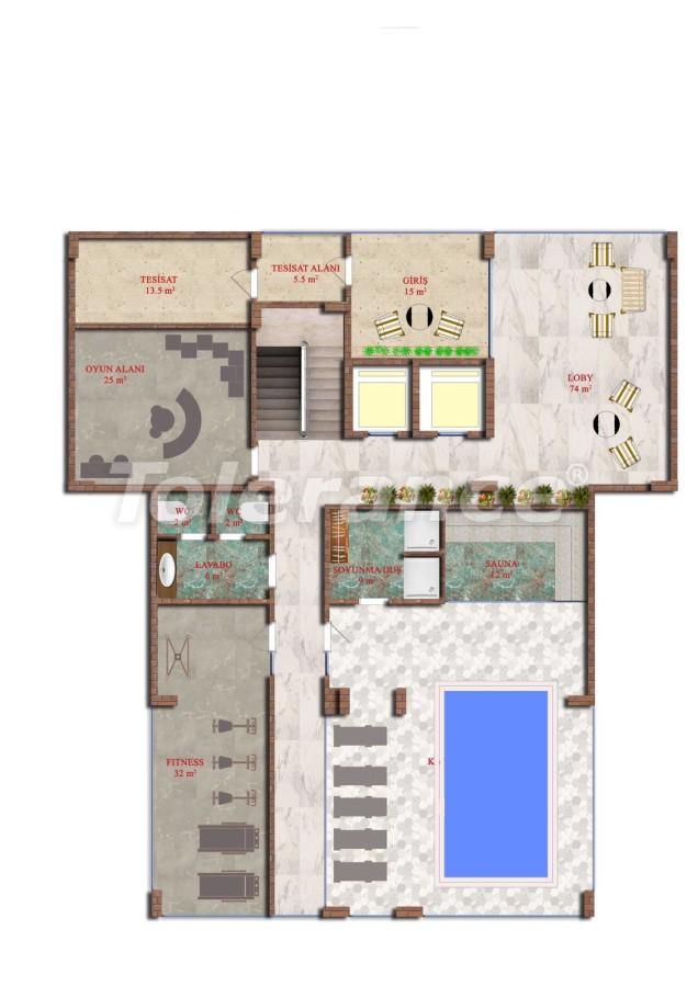 Недорогие двухкомнатные квартиры в Авсалларе, Алания от застройщика - 40730 | Tolerance Homes