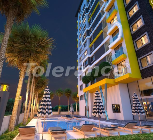 Современные апартаменты от надежного застройщика в Махмутларе, Аланья, всего в 200 м от моря - 41129   Tolerance Homes