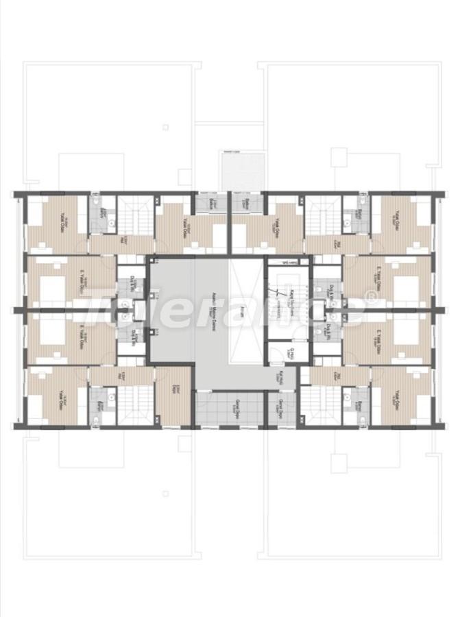 Шикарные просторные квартиры в Алтынташ, Анталия в рассрочку от застройщика - 42072 | Tolerance Homes