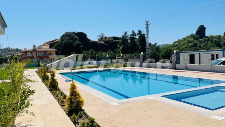 Дешевые квартиры в Куздере, Кемер в комплексе с бассейном от застройщика - 43580   Tolerance Homes
