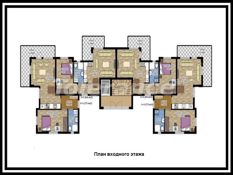 Вторичная трехкомнатная квартира в Лимане, Коньяалты от одного из лучших застройщиков - 671 | Tolerance Homes