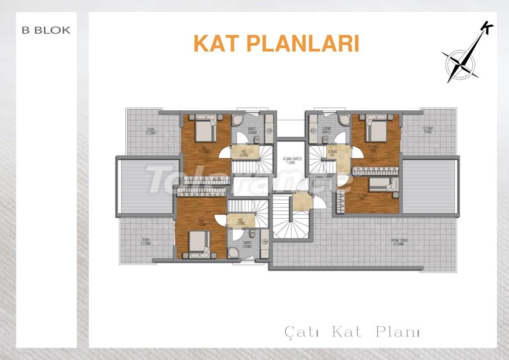 Вторичная двухкомнатная квартира  в Лимане, Коньяалты - 714 | Tolerance Homes