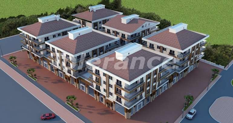 Просторные апартаменты  и магазины в Кепезе, Анталия - 1213 | Tolerance Homes