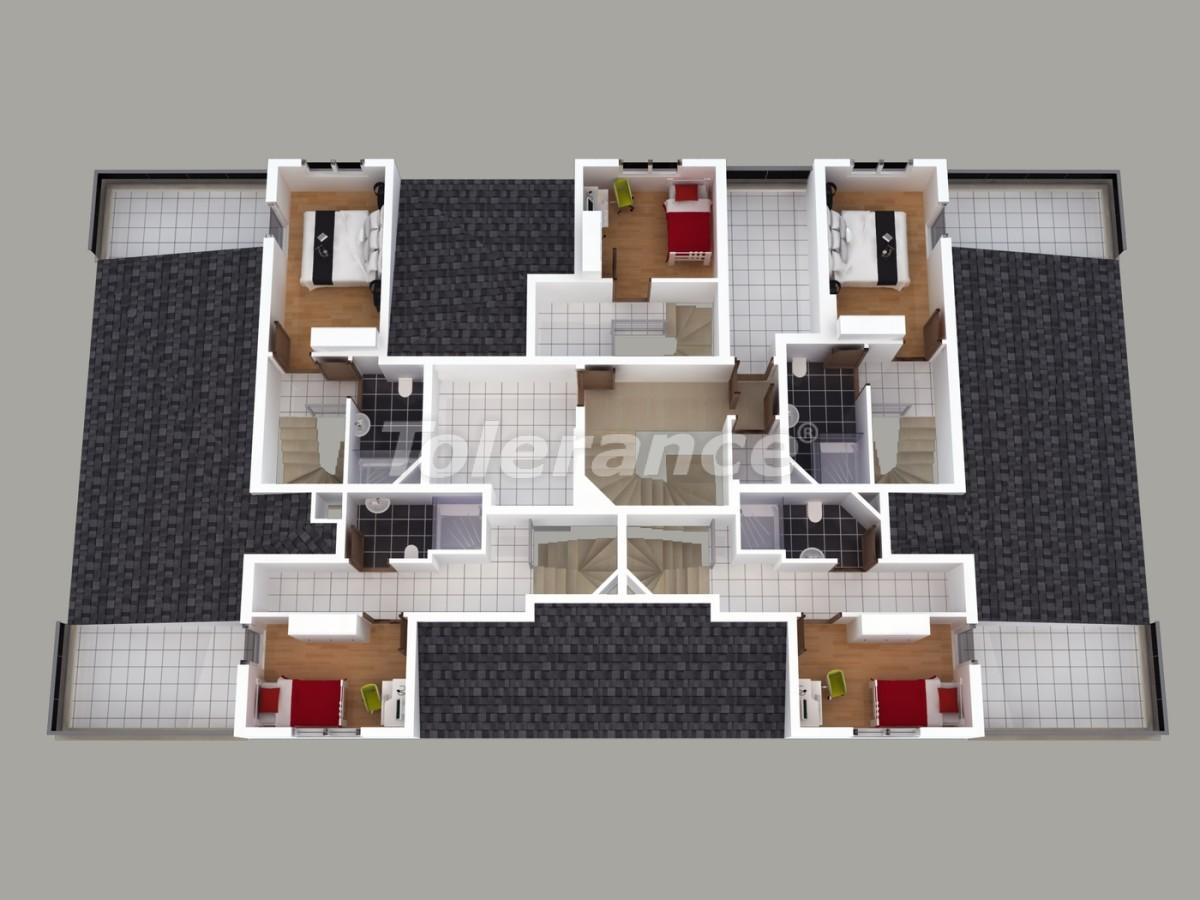 Апартаменты в Хурме, Коньяалты  с установленной системой отопления газом - 1459 | Tolerance Homes