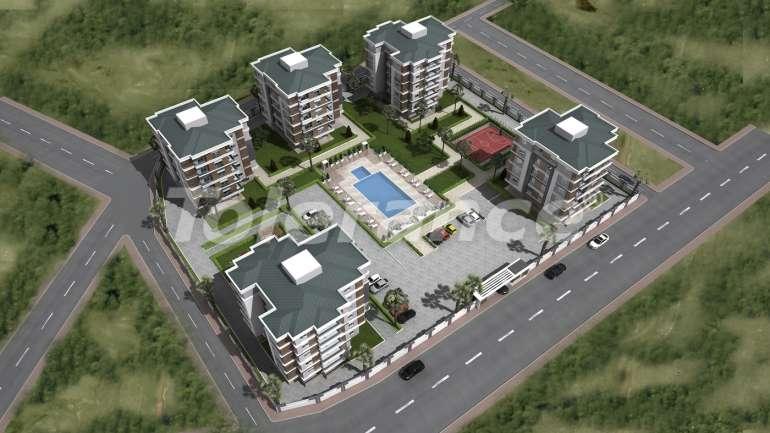 Просторные квартиры в Кепезе, Анталия от одного из лучших застройщиков - 1464 | Tolerance Homes