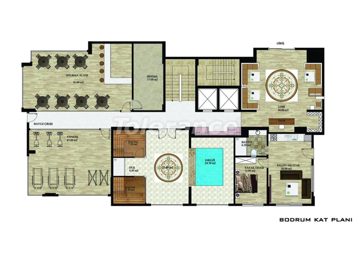 Квартиры в Махмутларе, Алания от надежного застройщика - 2625 | Tolerance Homes