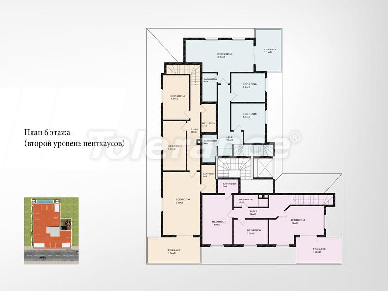 Новый проект в центре Аланьи от известного застройщика - 2660 | Tolerance Homes
