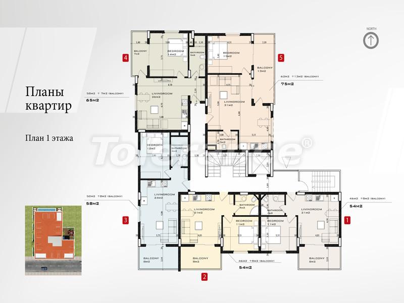 Новый проект в центре Аланьи от известного застройщика - 2657 | Tolerance Homes