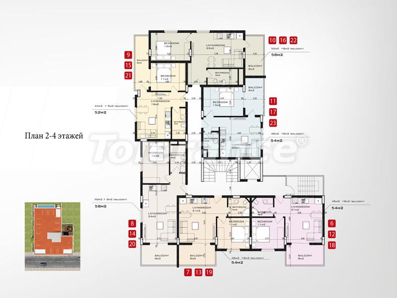 Новый проект в центре Аланьи от известного застройщика - 2658 | Tolerance Homes