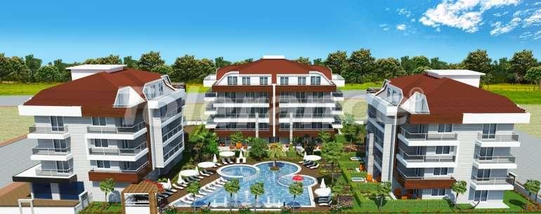 Комплекс апартаментов люкс класса в Оба, имеющий инфраструктуру пятизвездочного отеля - 2661 | Tolerance Homes