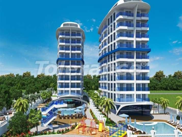 Роскошный автономный жилой курорт в центре города Аланья - 2714 | Tolerance Homes