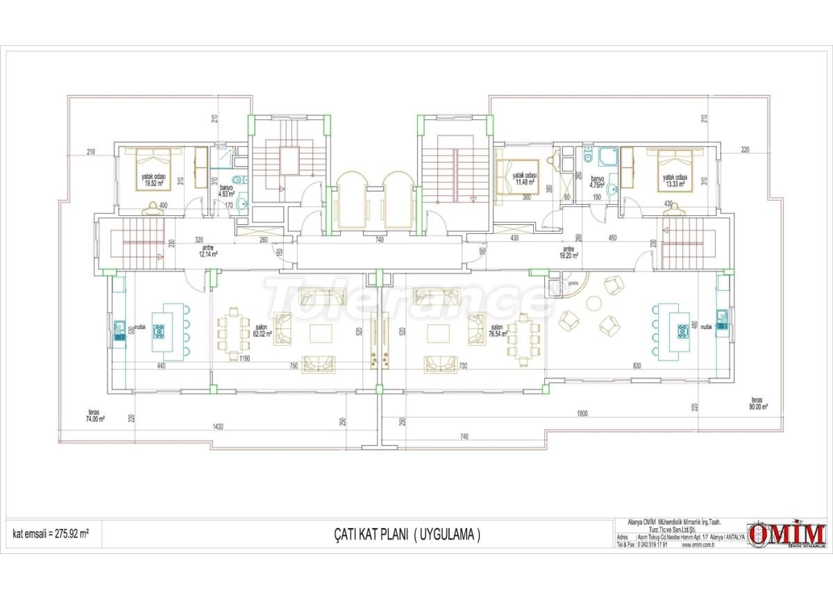 Квартиры в новом комплексе  в Махмутларе, Алания - 2868 | Tolerance Homes
