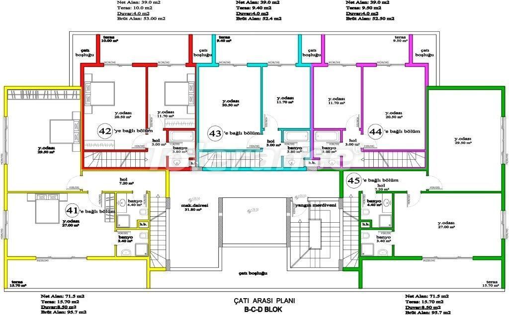 Апартаменты в Авсалларе, Алания, уникальный комплекс рядом с морем - 2892 | Tolerance Homes