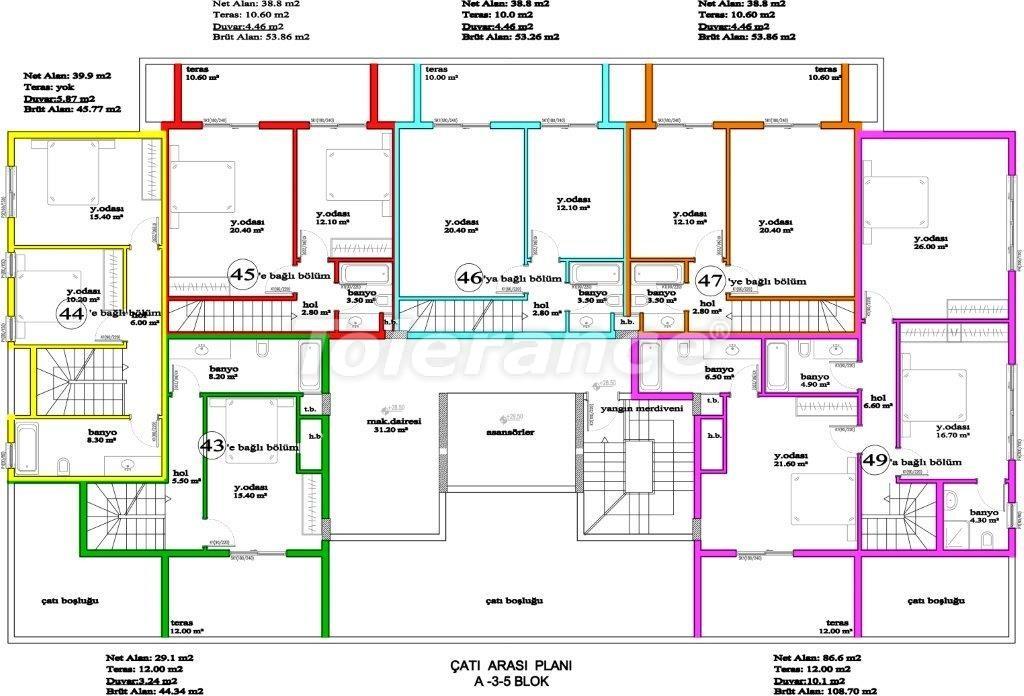 Апартаменты в Авсалларе, Алания, уникальный комплекс рядом с морем - 2888 | Tolerance Homes