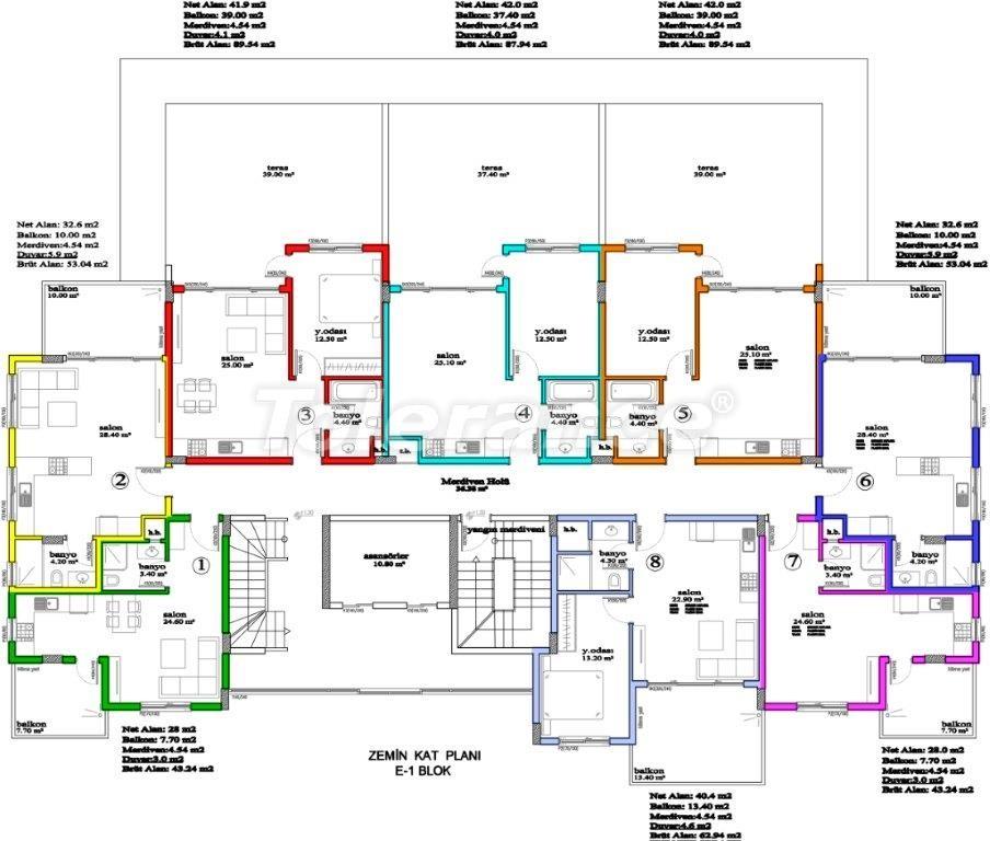 Апартаменты в Авсалларе, Алания, уникальный комплекс рядом с морем - 2898 | Tolerance Homes