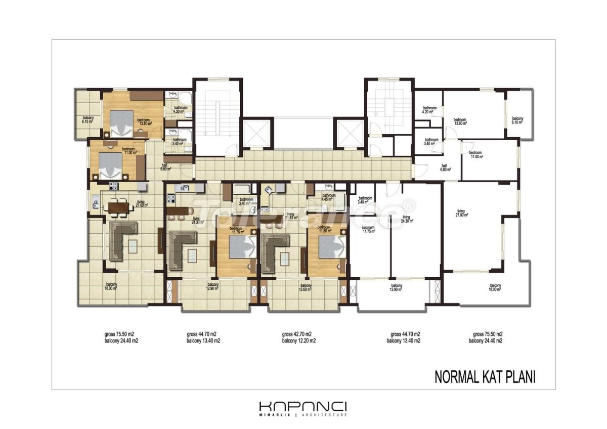 Квартиры в  Махмутлар, Алания от надежного застройщика - 2912 | Tolerance Homes