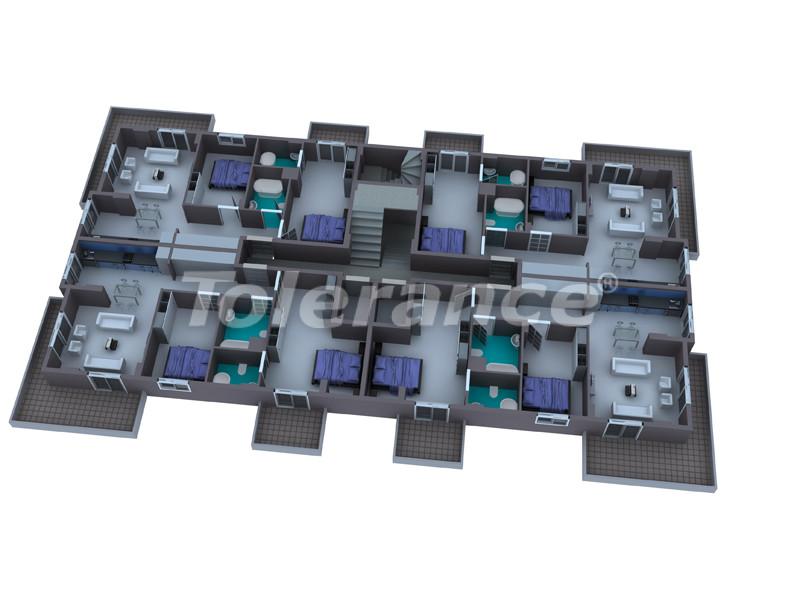 Квартиры в Махмутларе с полным комплектом мебели и бытовой техники - 2932 | Tolerance Homes