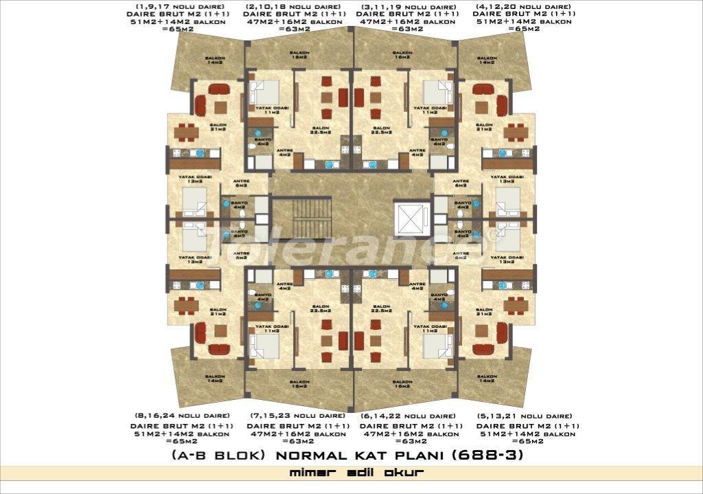 Квартиры в Оба в комплексе с инфраструктурой - 2972 | Tolerance Homes