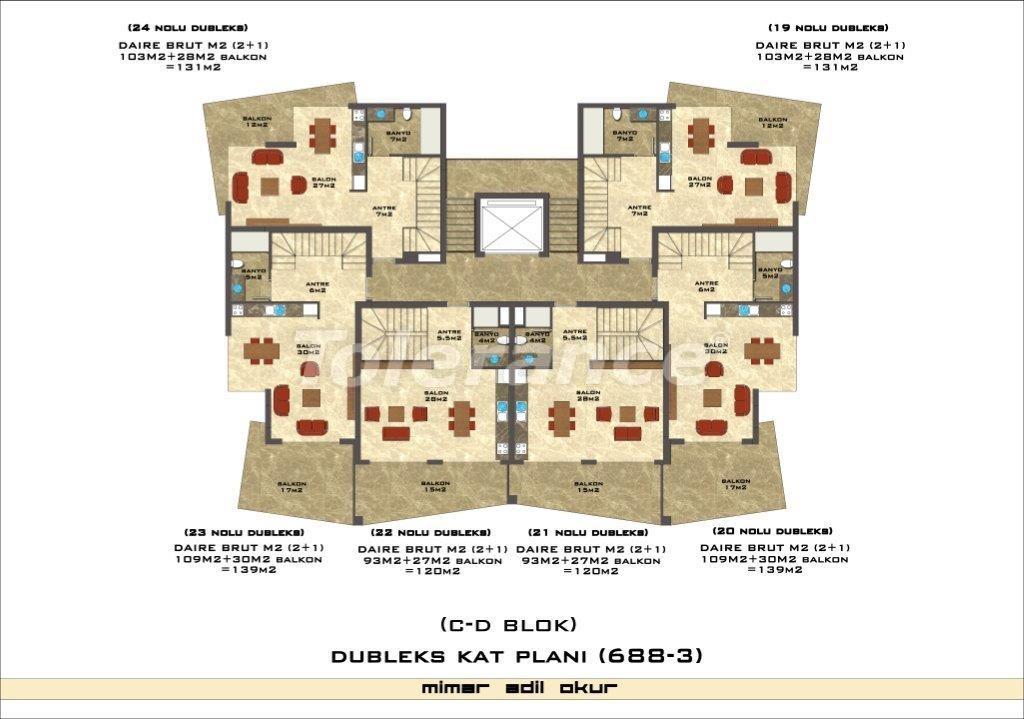 Квартиры в Оба в комплексе с инфраструктурой - 2978 | Tolerance Homes