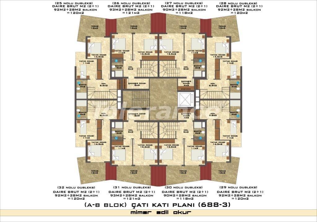Квартиры в Оба в комплексе с инфраструктурой - 2974 | Tolerance Homes