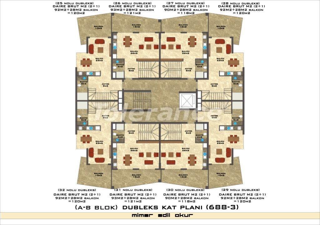 Квартиры в Оба в комплексе с инфраструктурой - 2973 | Tolerance Homes