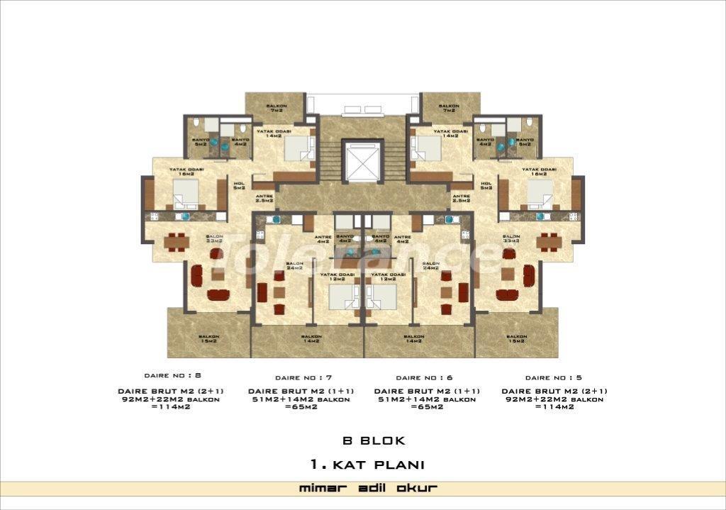 Квартиры в Кестеле в комплексе с инфраструктурой - 3026   Tolerance Homes
